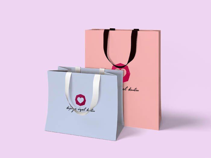 karton çanta poşet imalat üretim baskı tasarım