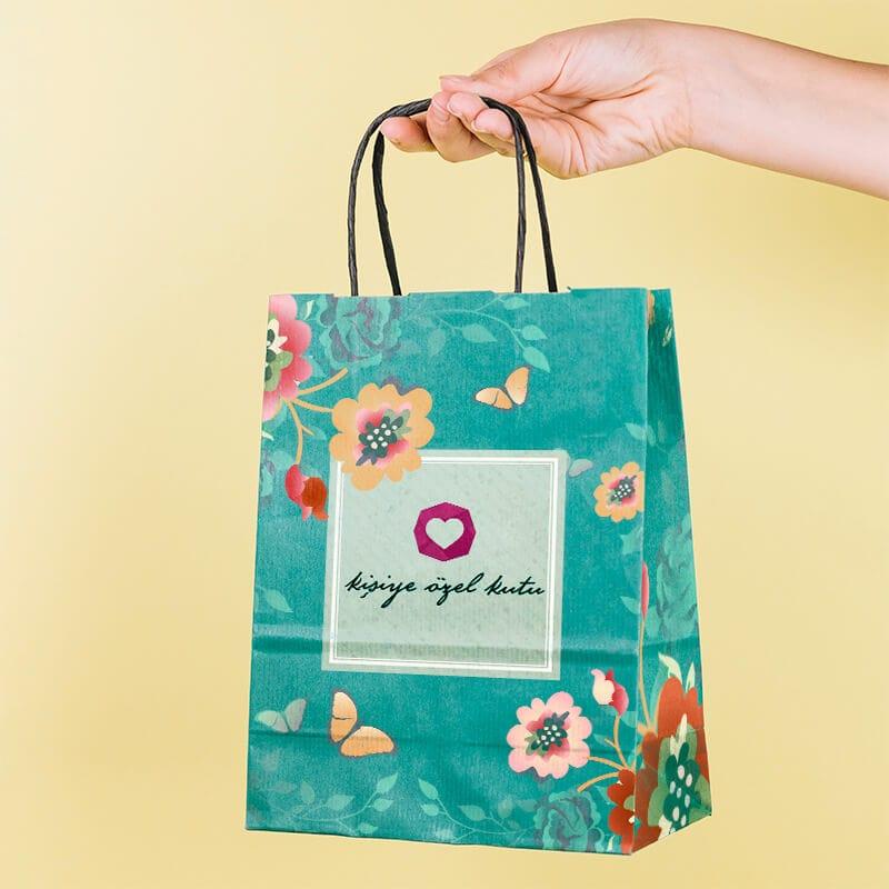 burgu saplı çanta üretim baskı tasarım