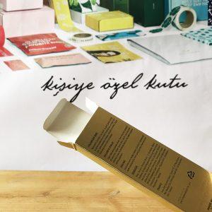 kozmetik kutuların üretimi