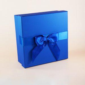 kare hediye kutusu lacivert