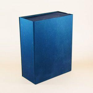 lacivert taslama mıknatıslı kutu modeli