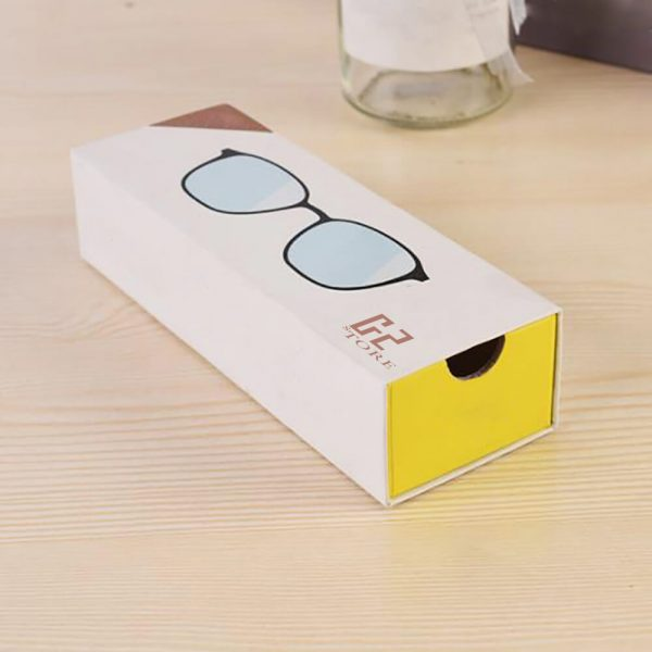 logo baskılı gözlük kutuları