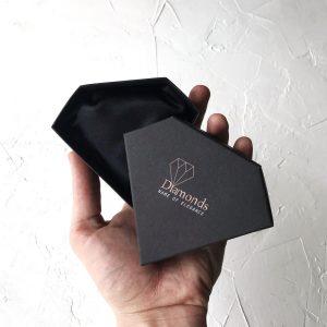 logolu özel kuyumcu kutusu