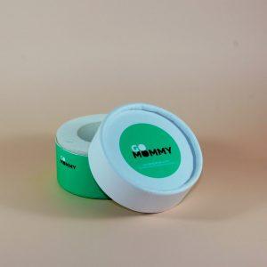 ufak yeşil silindir kutu