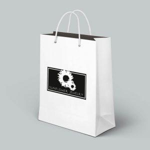 beyaz burgu saplı çanta