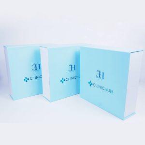 clinichub marka mıknatıslı mukavva kutu2