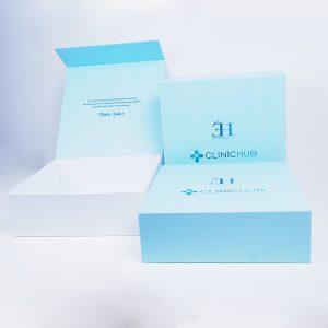 clinichub marka mıknatıslı mukavva kutu3