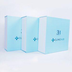 clinichub marka mıknatıslı mukavva kutu5