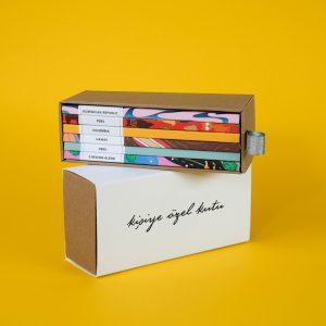 özel tasarım çekmeceli kutu
